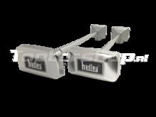 Hadley aluminium dubbele luchthoorn set
